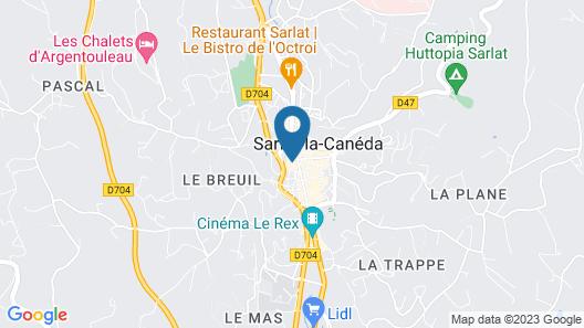 Hôtel particulier de Monméja Map