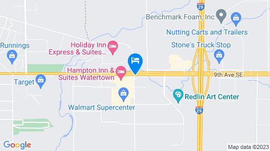 Days Inn by Wyndham Watertown Map