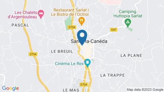 La Villa des Consuls Map