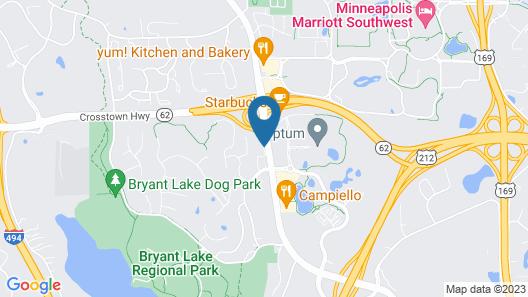 Hilton Garden Inn Minneapolis/Eden Prairie Map