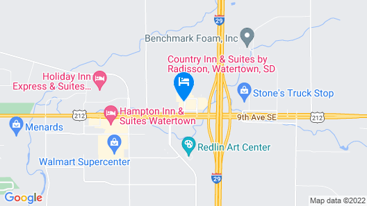 Country Inn & Suites by Radisson, Watertown, SD Map