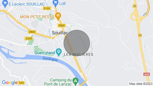 Maison Darchitecte - Vallée de la Dordogne - Piscine Map