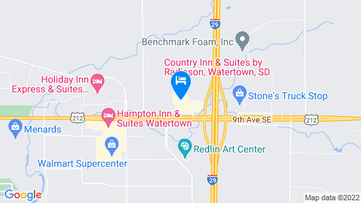 My Place Hotel-Watertown, SD Map