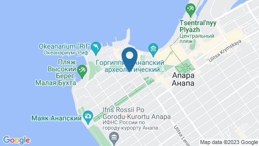 Blue Lagoon Map