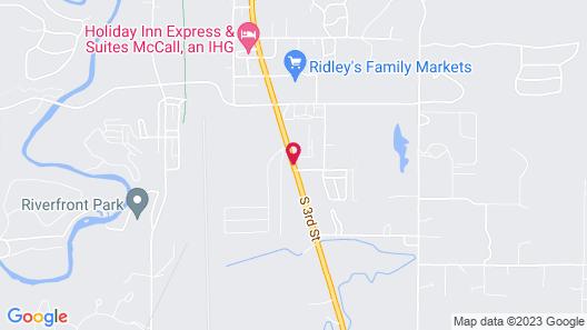 Super 8 by Wyndham McCall Map