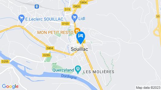Le Grand Hôtel Map
