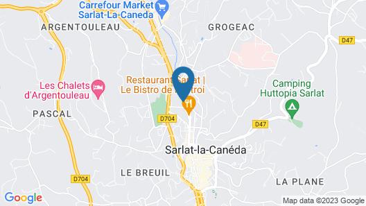 Au Grand Hôtel de Sarlat Map