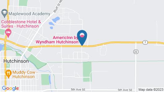 AmericInn by Wyndham Hutchinson Map