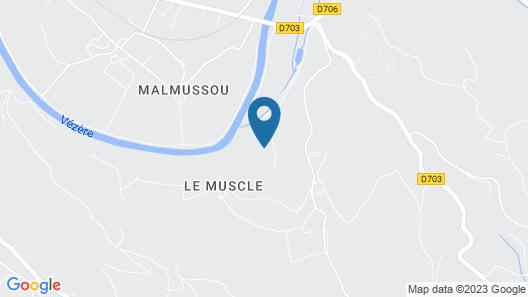 Le Moulin du Porteil Map
