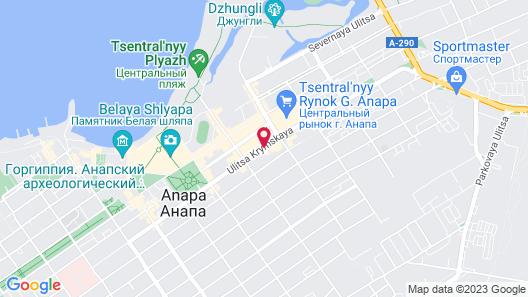 Hotel Garmonia Map