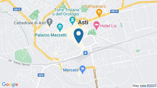Hotel Palio Asti Map