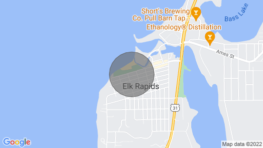 Beach Front Rental With Tennis Courts And Playground Directly In Front Of House Map