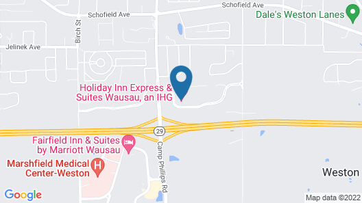 Holiday Inn Express Hotel & Suites Wausau, an IHG Hotel Map