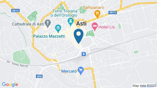 Hotel Aleramo Map
