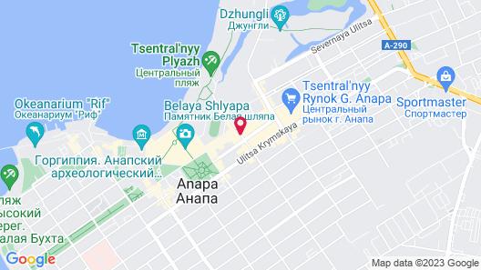 Bogema Hotel Map
