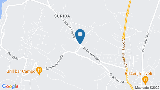 Apartments Ana Pula Map