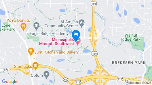 Marriott Minneapolis Southwest Map