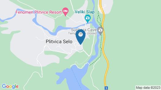 Plitvica Lodge Map