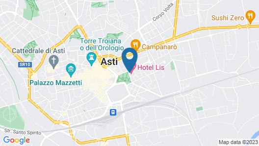 Hotel Lis Map