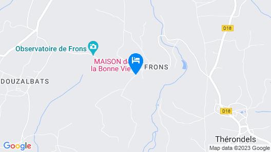 Maison de la Bonne Vie Map
