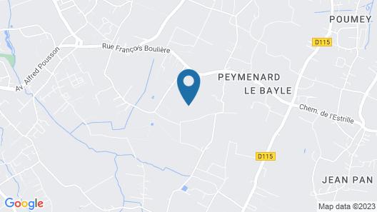 La Villa D'Ô Détente au Cœur des Vignes Bordelaise Map