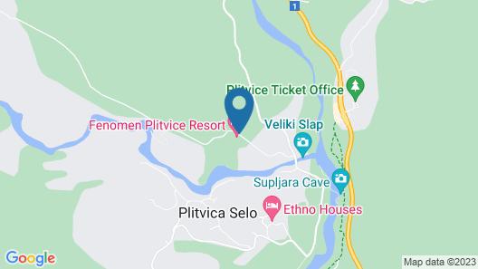 Fenomen Plitvice Map