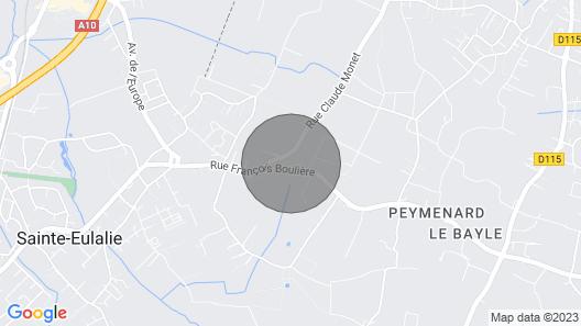 Portes de Bordeaux - 5-star Chateau - Organic Vineyard Map