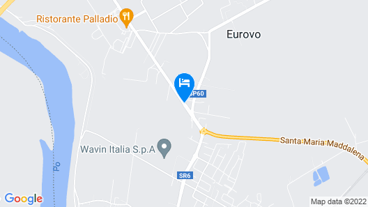 Hotel Italia Map
