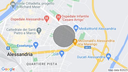 Luxury Apartment Alessandria Map