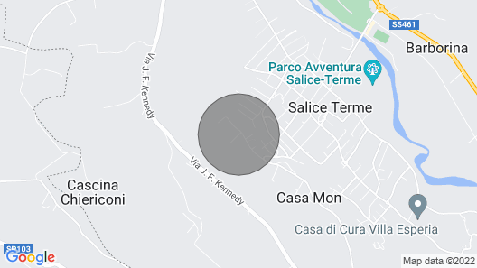 6 Bedroom Accommodation in Rivanazzano Terme Map