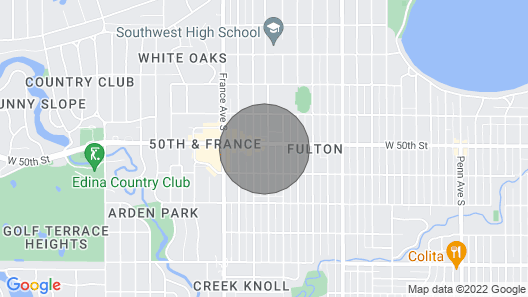 Prime Location at 50th and France!! Map