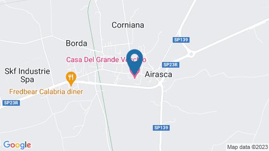 Casa Del Grande Vecchio Map