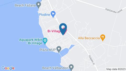 Holiday centre Bi village Map