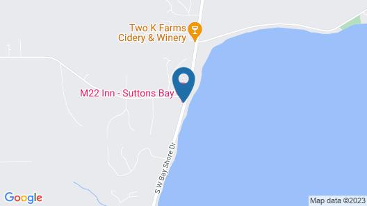 M-22 Inn Suttons Bay Map