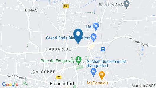 Otellia - Hostel Map