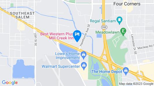 Best Western Plus Mill Creek Inn Map