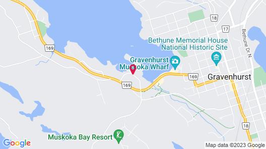 Residence Inn by Marriott Gravenhurst Muskoka Wharf Map