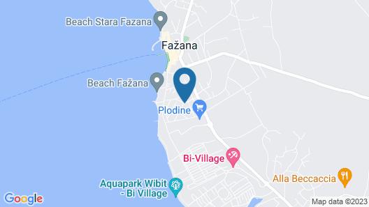 Villa Nina Apartments Map