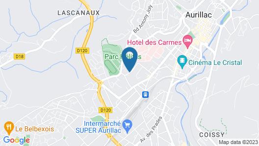 La thomasse Map