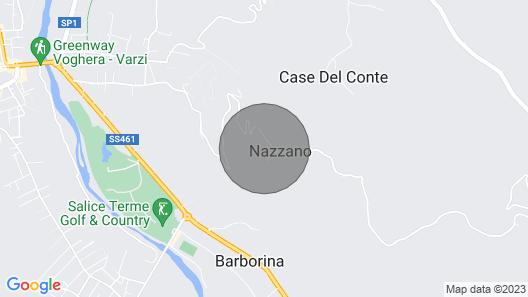 La Canonica di Nazzano - Ancient residence Map