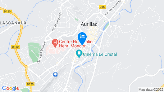Citotel Hôtel des Carmes Map