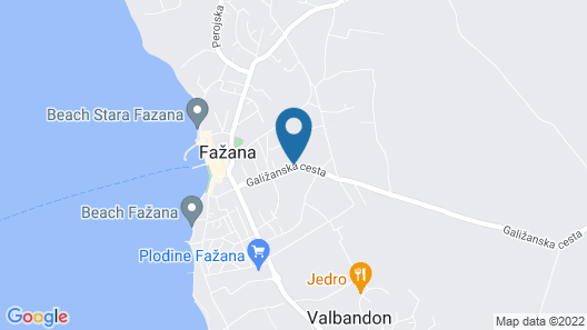 Apartment Dragan 114 Map