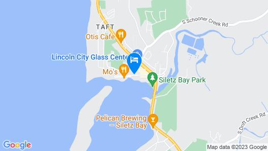 Siletz Bay Lodge Map