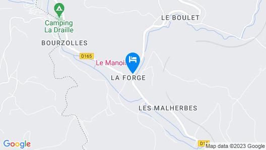 Le Manoir B&B - La Forge Map