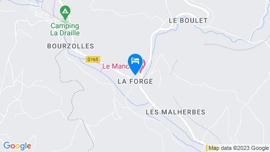 Le Manoir La Forge - Gîtes Map