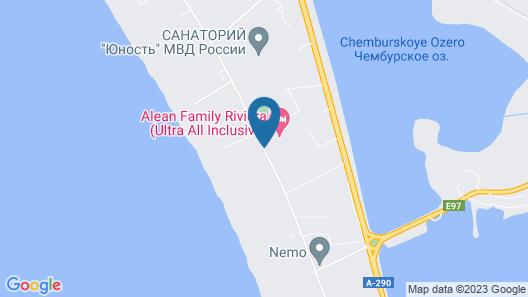 Alean Family Resort & SPA Riviera Map