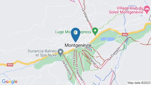 Chalet Etoile des Neiges Map
