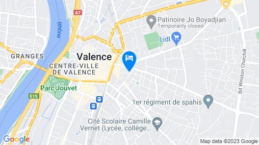 Atrium Hotel Map