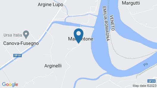Corte Stellata Map