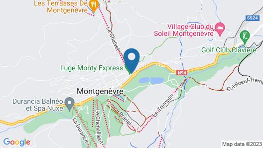 CGH Résidences & Spas Le Chalet des Dolines Map